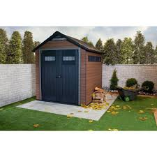 Suncast Vertical Storage Shed Bms5700 by Keter Fusion 757 7 5 Ft 7 3 Ft Outdoor Storage Shed