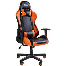 Merax Orange High Back Gaming Chair With Lumbar Support And Headrest ... Xtrempro G1 22052 Highback Gaming Chair Blackred Details About Ergonomic Racing Gaming Chair High Back Swivel Leather Footrest Office Desk Seat Design Computer Axe Series Blackred Check Out Techni Sport Racer Style Video Purple Shopyourway Topsky Pu Executive Merax 217lx 217w X524h Blue Amazoncom Mooseng New Lumbar Support And Headrest Akracing Masters Premium Highback Carbon Black Energy Pro