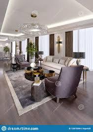 luxuswohnungen im hotel mit einem wohnzimmer und einem