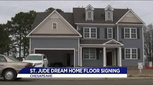 St Jude Dream Home floor signing day in Chesapeake