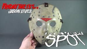 Jason Voorhees Pumpkin Stencil Free by Collectible Spot Fiberglassmasks Com Friday The 13th Part 6
