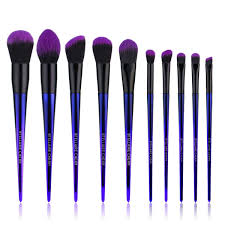 Amazoncom Stellaire Chern Makeup Brush Set 10 Pcs Premium