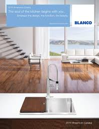 Blanco Meridian Semi Pro Kitchen Faucet by 2015 Blanco Showroom Catalog By Blanco Issuu