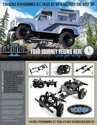Gelande II Truck Kit W/Defender D90 Body Set - IndoRCstore Toko RC ... Bodies Parts Cars Trucks Hobbytown Traxxas Bigfoot 110 Rtr Monster Truck Rc Hobbies King Motor Free Shipping 15 Scale Buggies Making A Cheap Body Look More To 4 Steps Gelande Ii Kit Wdefender D90 Set Indorcstore Toko 124th Losi Micro Trail Trekker Crawler Chevy Race Jual Rc Car Ellmuscleclsictraxxasaxialshort Custom Rc Body Oakman Designs Sale Cherokee Xj Hard Plastic 313mm Wheelbase For Flytec 9118 118 24g 4wd Alloy Shell Buggy Postapocalyptic By Bucks Unique Customs
