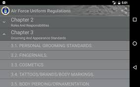 Us Air Force Awards And Decorations Afi air force uniform regulations android apps on google play