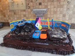 Monster Truck Cakes – Decoration Ideas | Little Birthday Cakes Homey Inspiration Monster Truck Cake 25 Birthday Ideas For Boys Cakes Amazing Grace Cakes Decoration Little Truck Cake With Chocolate Ganache Mud Recreation Of Design Monster Hunters 4th Shape Noah Pinterest Cakescom Order And Cupcakes Online Disney Spongebob Dora Congenial Fire Photos
