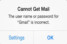 How To Fix Gmail Incorrect Password UserName Error iPhone And
