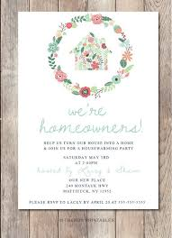 Etsy Listing 223808151 Housewarming Party Invitation