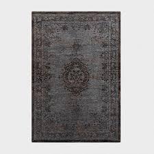 vintage teppich klassisch grau braun 230 x 330 cm