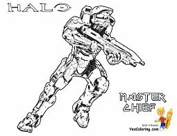 Stunning Halo Reach Coloring Pages Photos Within 5