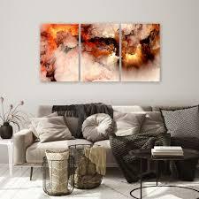 leinwand deko bild bunt abstrakt wand bilder wohnzimmer
