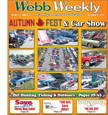 Webb Weekly September 26, 2018 By Webb Weekly - Issuu Trebird On Twitter Yesterday We Took A Trip Out To Oil City Pa 222035_12952173moneysaver Shopping News Substance Depdence Food Palatepleasing News And Events For Upcoming Weeks Nov 2 Over The Hill Gang Old Farts With Young Cars Page 2741 Camaro6 Eat Amp Drink Come Food Trucks Lend Hand At The Farm Food Everythings Coming Up Ros Lifestyle North Huntingdon Ems Nhemsr Ishlers Truck Caps Serving Central Pennsylvania Over 32 Years Lvadosierracom Of Month November 2012 Network Cbs Philly Truckathon Behance