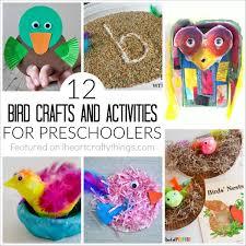 12 Bird Crafts And Activities For Preschoolers