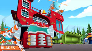 100 Rescue Bots Fire Truck Transformers Hero Adventures With Heatwave And Chase