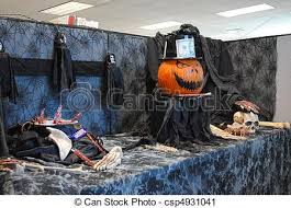 work halloween decoration ingenious use of a cubicle for stock