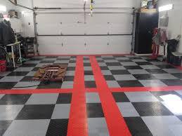 Racedeck Flooring Vs Epoxy by How To Put Garage Floor Tiles U2014 The Home Redesign