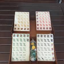 Mahjong Tiles blackjack Jie long Game