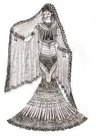 Indian Wedding Dress Design Pencil Sketches Dresses