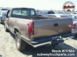 Used Parts 1995 Chevrolet Silverado 2500 7.4L 4x2 | Subway Truck ...
