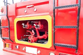 100 Fire Truck Red Closeup Fire Truck And Fire Hose Fire Rescue