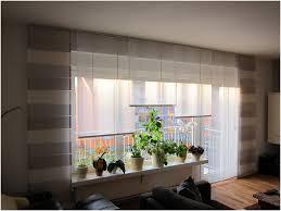 gardinen wohnzimmerfenster und balkontür living room