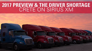 The Driver Shortage & 2017 Preview - Crete Carrier On SiriusXM ... Mega Carrier Increases Maximum Speed For Company Drivers Blog Trucking News Cdl Info Progressive Truck School Leading Csa Scores In Industry Crete Youtube Corp Shaffer Lincoln Ne The Driver Shortage 2017 Preview On Siriusxm Careers Hirsbach Schneider Driving Jobs Home Facebook End Of Year Update A Career As Unique You Flatbed Employment Otr Pro Trucker National Appreciation Week