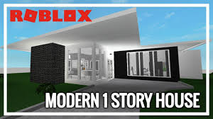 100 Modern One Story House ROBLOX Welcome To Bloxburg 1 27K