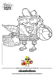 Sandy Cheeks Coloring Pages The Squirrel From Texas Hellokids For Kids