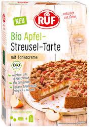 bio apfel streusel tarte ruf lebensmittel