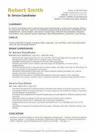 Field Service Coordinator Resume Office Job Description Example