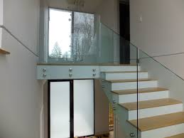 Glass Stair Rail – Larchmont NY - US Glass Fence Glass Stair Rail With Mount Railing Hdware Ot And In Edmton Alberta Railingbalustrade Updating Stairs Railings A Split Level Home Best 25 Stair Railing Ideas On Pinterest Stairs Hand Guard Rails Sf Peninsula The Worlds Catalog Of Ideas Staircase Photo Cavitetrail Philippines Accsories Top Notch Picture Interior Decoration Design Ideal Ltd Awnings Wilson Modern Staircase Decorating Contemporary Dark