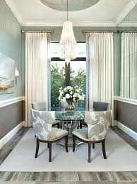 Ideas For Dining Room Curtains Home Curtain Drapes Bay Window Treatment