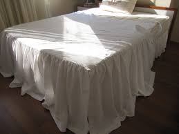 How to Make a Cream Bed Skirt King Size Cream Bed Skirt Color on