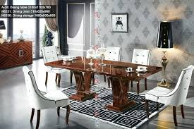 Italian Dining Set Modern Room Table And Chairs Elegant