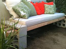 View In Gallery DIY Concrete And Cinderblock Bench