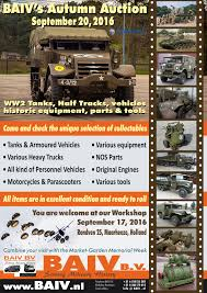 Auction: HISTORICAL MILITARY 1939/1945 COLLECTION BAIV B.V. - G503 ... Witham Auction Of Surplus Military Vehicles Tanks Afvs Trucks April Asia Intertional Auctioneers Inc You Can Bid On These Wwii Planes And Jeeps Armor Oh My Riac Block 1943 Dodge Wc51 And Harley Wl Hicsumption Registration Problem Teambhp Sd Offroaders Jonga 44 Restoration How To Buy A Vehicle Veteranaid Beckort Auctions Llc Vintage Dragon Wagon Dukw Half Tracks Head Auction Save Mi Public Auto Md New Car Models 2019 20