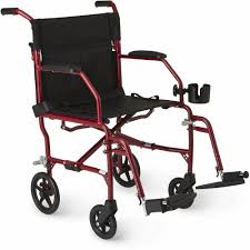 Medline Ultralight Transport Wheelchair, Folding Transport Chair, Permanent  Armrest, Swing Away Footrest, 8 Inch Wheels, Red Frame - Walmart.com Drive Medical Flyweight Lweight Transport Wheelchair With Removable Wheels 19 Inch Seat Red Ewm45 Folding Electric Transportwheelchair Xenon 2 By Quickie Sunrise Igo Power Pride Ultra Light Quickie Wikipedia How To Fold And Transport A Manual Wheelchair 24 Inch Foldable Chair Footrest Backrest