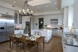 Harmonious Open Kitchen To Dining Room by Kitchen And Dining Room Layout Ideas Affordable Kitchen Layouts