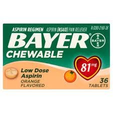 Aspirin For Christmas Tree Life by Bayer Low Dose Aspirin Regimen Enteric Coated Tablets 81 Mg 300