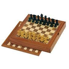 Chess Backgammon Set
