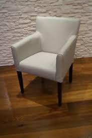 details zu hellgraues esszimmerstühle mit lehnen stuhl sessel echt leder stühle lederstühle