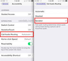 How to Set Speakerphone Mode to Automatically Activate on iPhone Calls