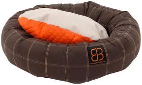 Bolster Dog Bed by Amazon Com Petego Dozer Donut Round Bolster Dog Bed Medium 31