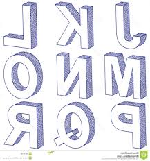 3D Alphabet Pencil Letters How To Draw 3D Alphabet Letters How To