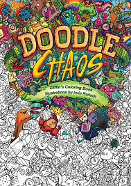 Doodle Chaos Zifflin Is Proud To Present His 4th Coloring Book