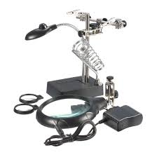 Magnifier Lamp 10x Magnification by New 2 5x 7 5x 10x Led Light Magnifier Stand Clamp Magnifying Tool