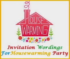 Invitation Wordings For Housewarming Party Sample What To Write In A Card