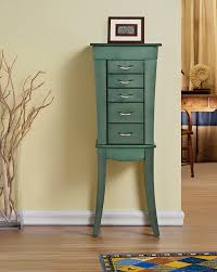 Amazon.com: Grace - Eiffel 5 Drawers Jewelry Armoire - Sea Green ... Ideas Of Hives Honey Morgan 6 Drawer Walnut Jewelry Armoire On Amazoncom Southern Enterprises Classic Mahogany Black Large Size Walmart Meaning Waterford Merlot Hayneedle Armoirelopez Sevendrawer With Mirror Best Solutions Scroll 11 Best Jewelry Boxes Images On Pinterest Armoire Storage Sale Roselawnlutheran Brilliant In Dark And Store Exchange Box Repair