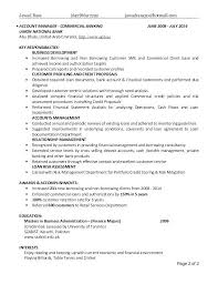 Small Business Banker Sample Resume