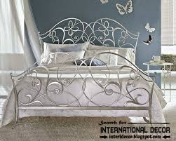 Wrought Iron King Headboard by Luxurious Italian Wrought Iron Beds And Headboards 2015 Silver